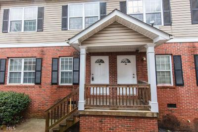 Marietta Condo/Townhouse New: 1651 Massachusetts #9