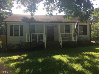 Dallas Single Family Home New: 1659 Villa Rica Hwy