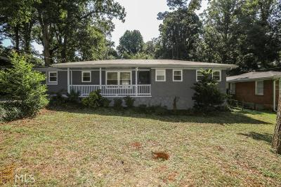 Decatur Single Family Home New: 1392 David Cir