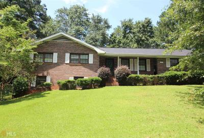Newnan Single Family Home Under Contract: 197 Glover Cir