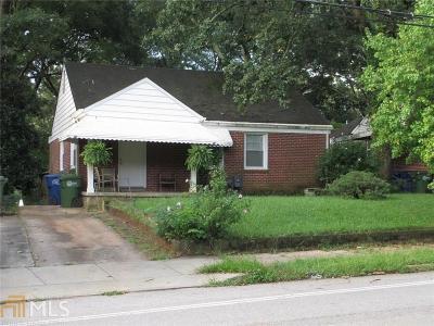 Atlanta Single Family Home New: 1337 Hosea L Williams Dr