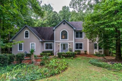 Barrow County, Forsyth County, Gwinnett County, Hall County, Newton County, Walton County Single Family Home Under Contract: 4645 Riversound Dr
