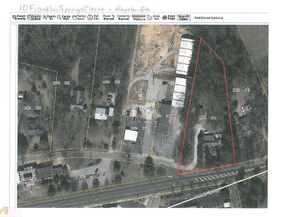 Franklin County Commercial For Sale: 10 Franklin Spring