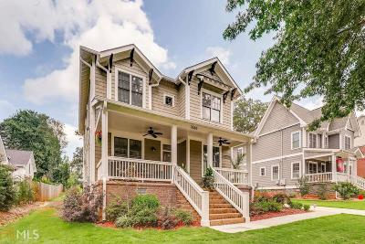 Avondale Estates Single Family Home Under Contract: 3260 Kensington Rd