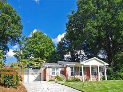 Atlanta Single Family Home Under Contract: 1271 Vista Valley Dr