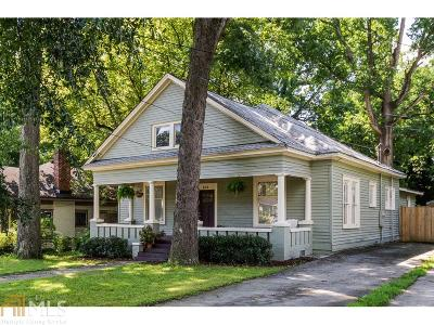 Atlanta Single Family Home New: 656 Elbert St