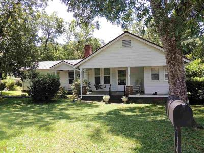 Elberton GA Single Family Home For Sale: $97,000
