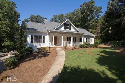 Dawsonville Single Family Home For Sale: 156 Walnut Cv