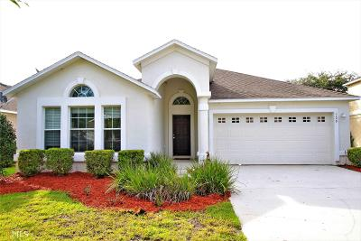 St. Marys Single Family Home New: 329 Brooklet