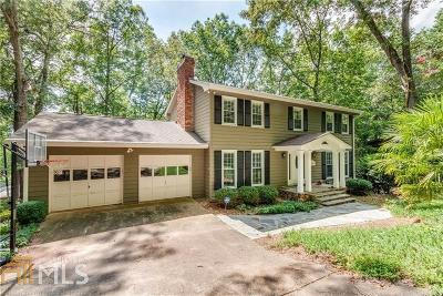 Cumming Single Family Home For Sale: 5795 Cherokee Trce