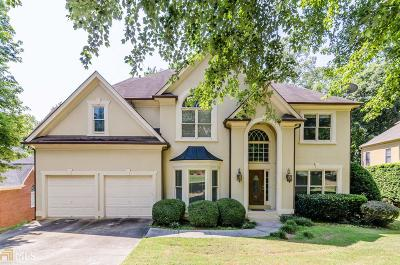 Johns Creek Single Family Home New: 635 Sweet Stream Trce
