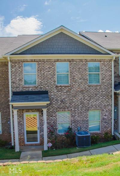 Peachtree Walk Condo/Townhouse For Sale: 7446 Pine Brook Rd