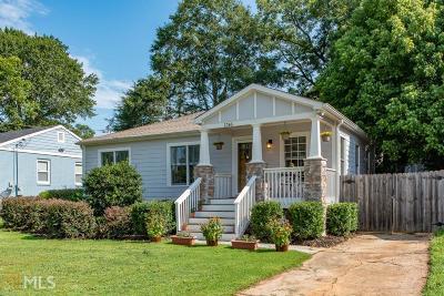 Atlanta Single Family Home New: 1746 Rockland Dr