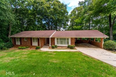 Decatur Single Family Home For Sale: 2212 Hill Park Ct