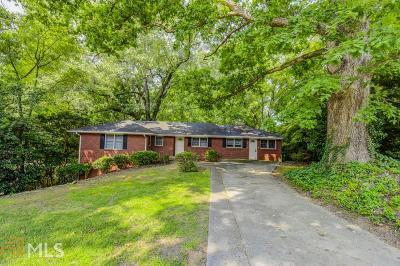 Atlanta Single Family Home New: 1100 Burton Dr