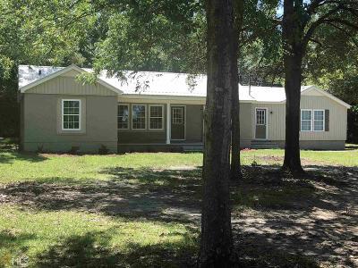 Statesboro Single Family Home For Sale: 7844 Burkhalter
