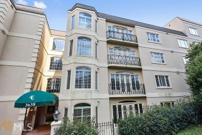 Evian Condo/Townhouse Under Contract: 3638 Peachtree Rd #406