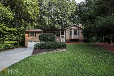 Acworth Single Family Home New: 839 Sunset Ct