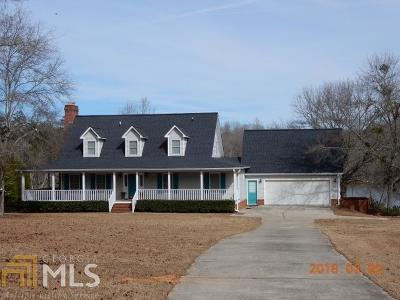 Milledgeville, Sparta, Eatonton Single Family Home For Sale: 163 Ellis Mills Rd