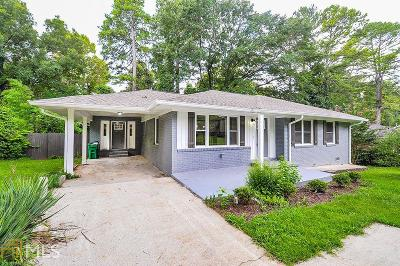 Decatur Single Family Home New: 1669 Carter Rd