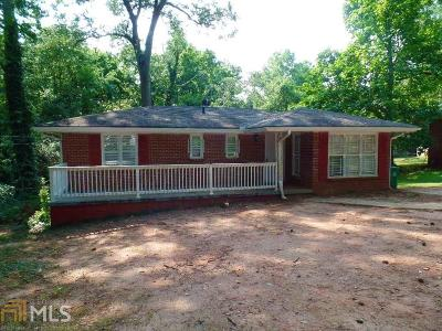 Decatur Single Family Home New: 1421 Dennis Dr