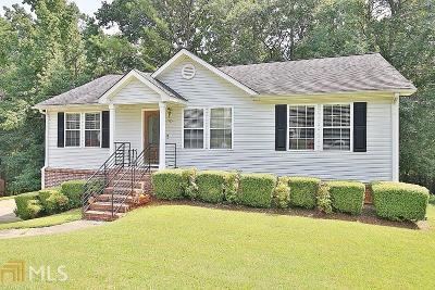 Douglasville Single Family Home New: 7105 Stonecreek Dr