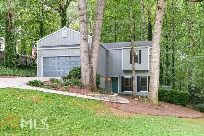 Marietta Single Family Home Under Contract: 3074 Oak Dr