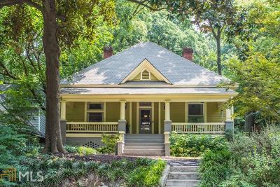 Atlanta Single Family Home Under Contract: 450 Loomis Ave