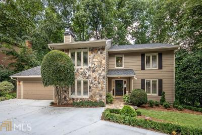 Dunwoody Single Family Home New: 1612 Withmere Way