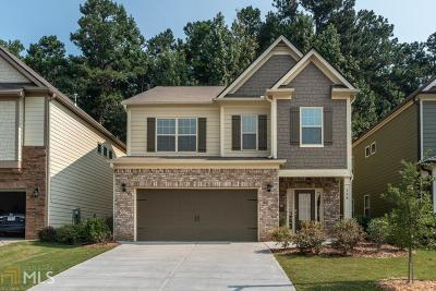 Acworth Single Family Home New: 124 Freedom Dr