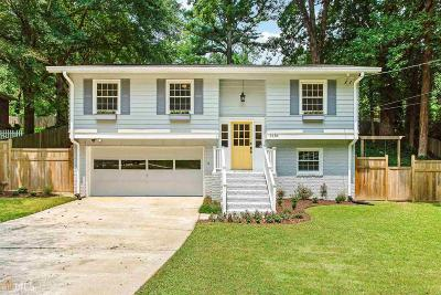 Smyrna Single Family Home Under Contract: 3184 Ann Rd