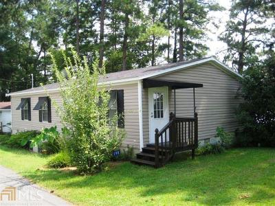 Milledgeville, Sparta, Eatonton Single Family Home For Sale: 198 Mays