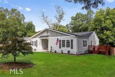 Smyrna Single Family Home New: 1251 Pierce Ave