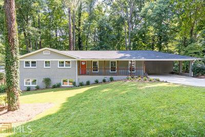 Atlanta Single Family Home New: 2814 Overlook Dr