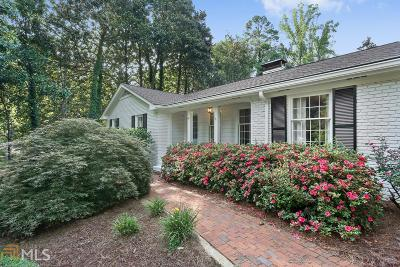 Cobb County Single Family Home Under Contract: 411 Redwood Dr
