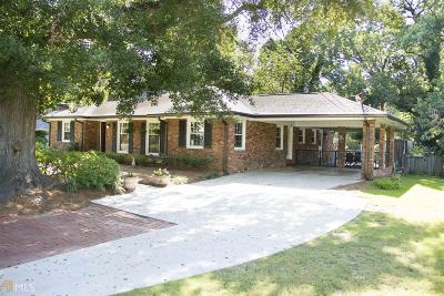 Atlanta Single Family Home New: 2613 Sharondale Dr