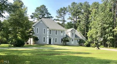 Griffin Single Family Home For Sale: 20 Stillwater Trce