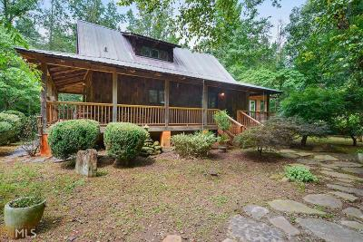 Dawsonville Single Family Home New: 721 Cleve Wright Rd
