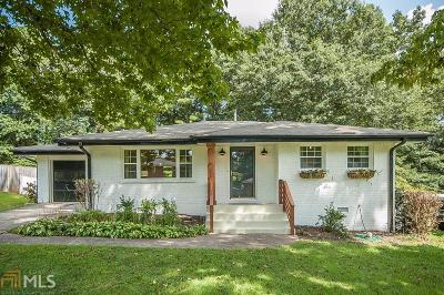Smyrna Single Family Home Under Contract: 3645 Alpine Dr