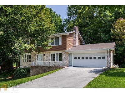 Dunwoody Single Family Home Under Contract: 2448 Kingsglen Ct