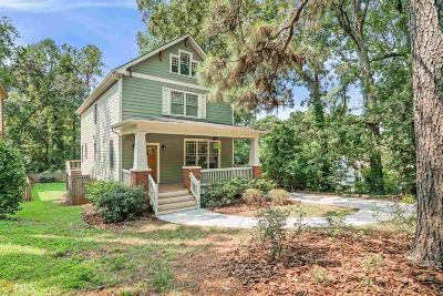 Decatur Single Family Home New: 3091 Alston Drive