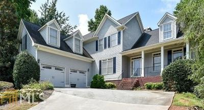 Acworth Single Family Home Back On Market: 1709 Kenbrook Ct