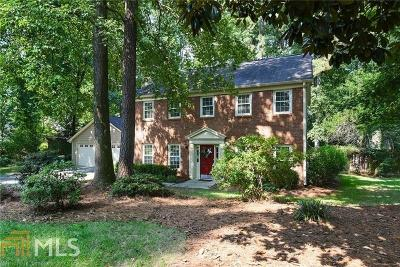 Marietta Single Family Home New: 2172 Wood Glen Ln