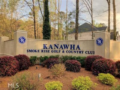 Stone Mountain Residential Lots & Land For Sale: 5022 Kanawha Bluff #11