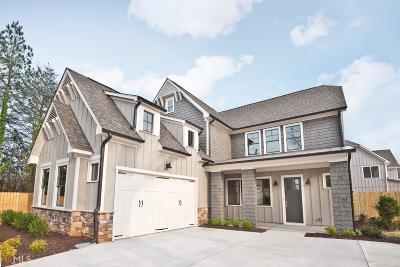 Atlanta Single Family Home New: 1940 Braeburn Cir