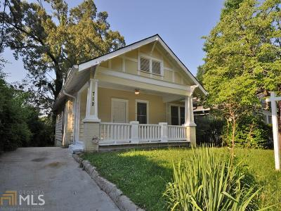 Atlanta Single Family Home New: 712 Catherine St