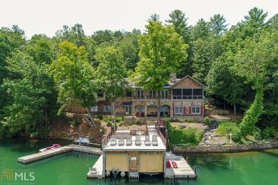Rabun County Single Family Home For Sale: 17 Lands End Ln