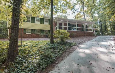 Atlanta Single Family Home New: 1072 Mason Woods
