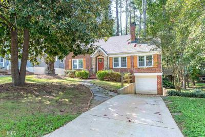 Fulton County Single Family Home New: 1732 Westhaven