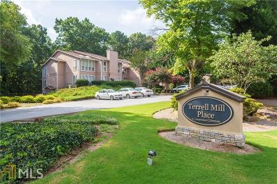 Marietta Condo/Townhouse New: 1545 Terrell Mill Pl #D